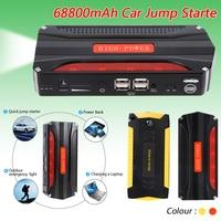 Liplasting Capacity 12V Petrol Diesel Multi Function Car Jump Starter 4USB Power Bank SOS Light 600A