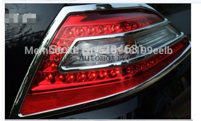 For Nissan Teana 2008 2009 2010 2011 2012 ABS Chrome Rear taillight Lamp Cover trims
