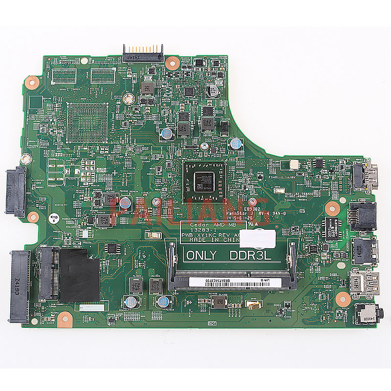 PAILIANG Laptop Motherboard For DELL Inspiron 3541 3441 3542 3442 PC Mainboard AMD CN-0HMH2G 0HMH2G XY1KC 13283-1 Tesed DDR3