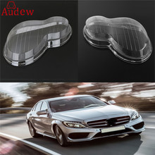 1Pcs Clear Right/Left Car Housing Headlight Lens Shell Cover Lamp Assembly For Mercedes/Benz 01-07 W203 C-Class