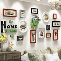 أحدث إطارات الصور خشبية إطار الصورة الحديثة جدار إطار الخشب ل adornos قماش جودة عالية الفقرة كازا دي ماديرا الفقرة colgar