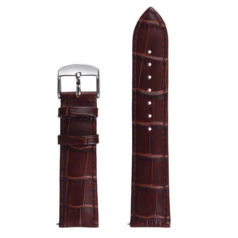 Torotop 2017 Newest Fashion Strap For SAMSUNG GEAR S3 22mm Straps Genuine Leather Crocodile Pattern Gear