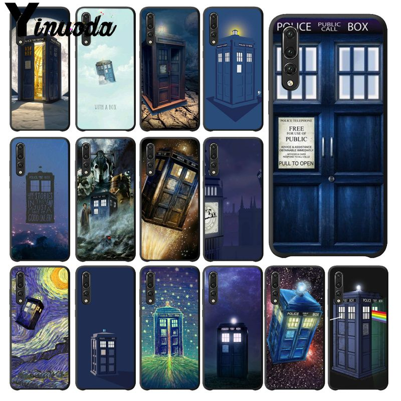 Phone Bags & Cases Yinuoda Tardis Doctor Dr Who Police Box Phone Case For Huawei Mate9 10 Mate10 Lite P9 P10 Plus P20 Pro Honor10 View10 Cellphones Half-wrapped Case