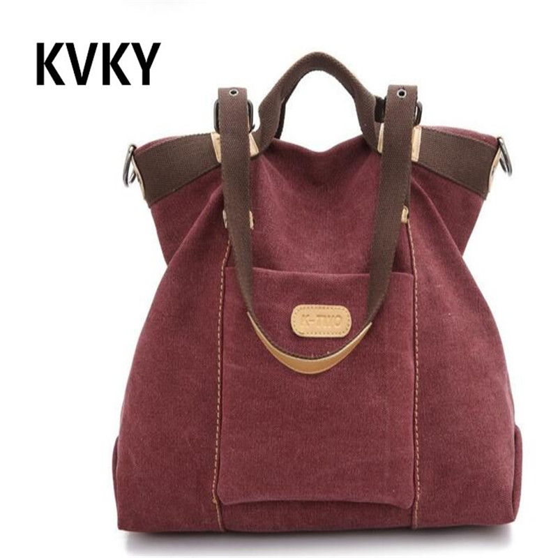 Style Tote Handbag Canvas Shopping Bag Shoulder Bags Large Crossbody Bag CH080