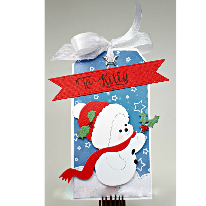 Christmas Snowman Baby Metal Cutting Dies Stencils For Diy Scrapbooking Decorative Embossing Suit Paper Card Die Cutting Tool Clear And Distinctive Electronic Components & Supplies