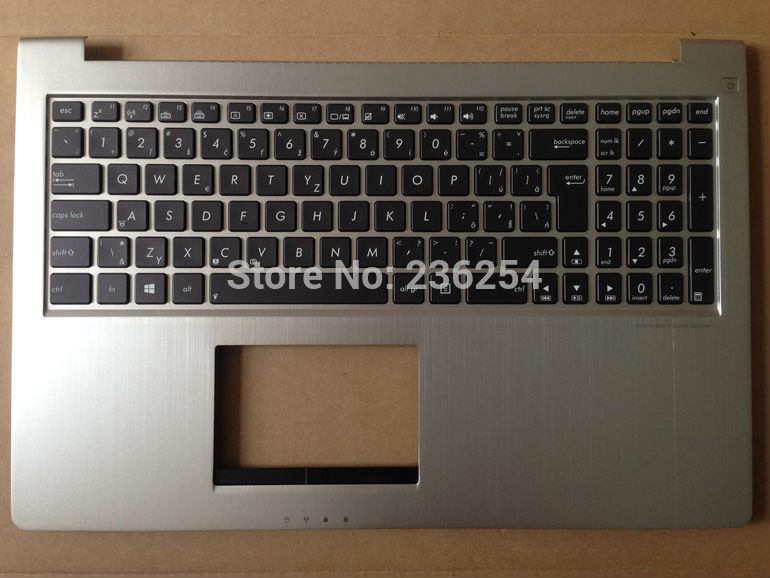 Laptop Keyboard With silver C Case for asus Asus ZENBOOK UX51 UX51VZ UX51VZ-DB115H Backlight Slovakia SL 9Z.N8BBU.H09 цена
