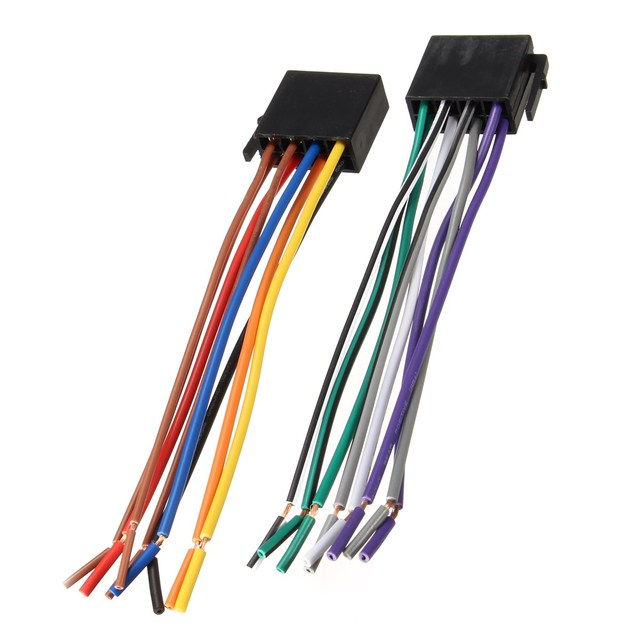 Car Radio Wire Harness Adapter Connector Cable Power