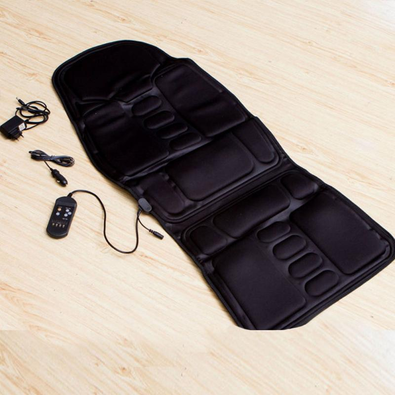1 Set Electric Massage Chair Seat Auto Car Vibrator Body Back Neck Lumbar Massage Cushion Relaxation Anti-stress Heat Pad шарф luhta luhta lu692gmmzk82
