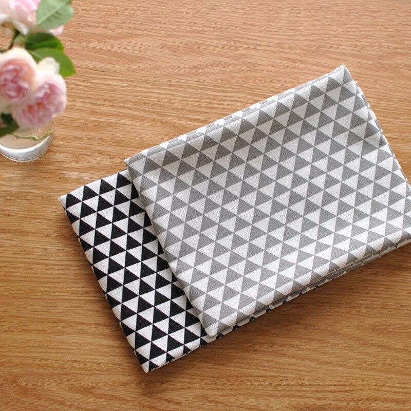 Nordic Style Geometric Cotton Napkin Rectangle Washable Pads Table Placemats Wedding Party Decoration napkins cloth guardanapo