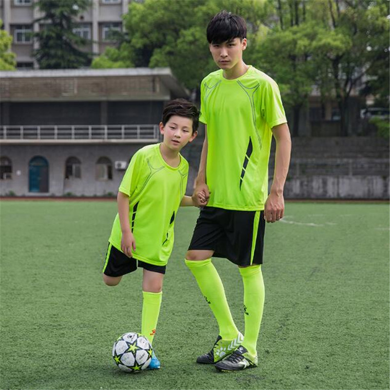 cb25a9b60 2019 new custom man soccer jersey custom personalized team logo number  adult child blank football jersey diy soccer jersey-in Soccer Jerseys from  Sports ...