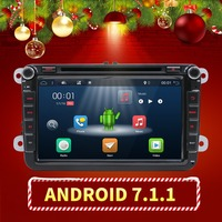 BEST PRICE!! Android 7.1 VW Car DVD GPS Navi 2GB RAM for GOLF 6 polo New Bora JETTA MK4 B6 PASSAT Tiguan SKODA OCTAVIA Fabia