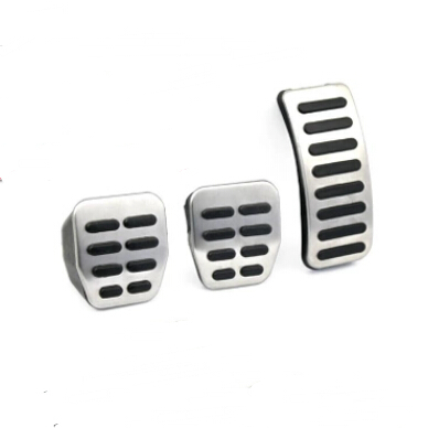 New Stainless Steel Car <font><b>Pedals</b></font> cover case for <font><b>Audi</b></font> TT Pedale VW SEAT SKODA Golf 3 4 Polo 9N3 Octavia Ibiza Fabia A1 A2 <font><b>A3</b></font> GTI image