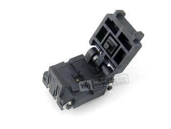 Plastronics 16QN50K23030 16QN50S23030 IC Test Socket Adapter 0.5mm Pitch for QFN16, MLP16, MLF16 Package Free Shipping