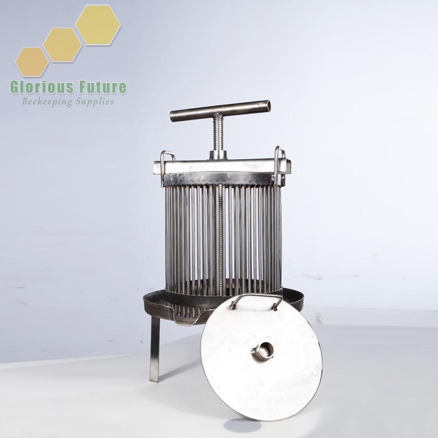 Stainless Steel Honey Comb Presser Bee Wax Press Machine for Beekeeping Honey Equipment Beekeeper Supplies WP 2A