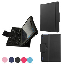Tab2 A10-30 X30F Bluetooth Keyboard Case For Lenovo TAB2 A10-70F Leather case +protectors