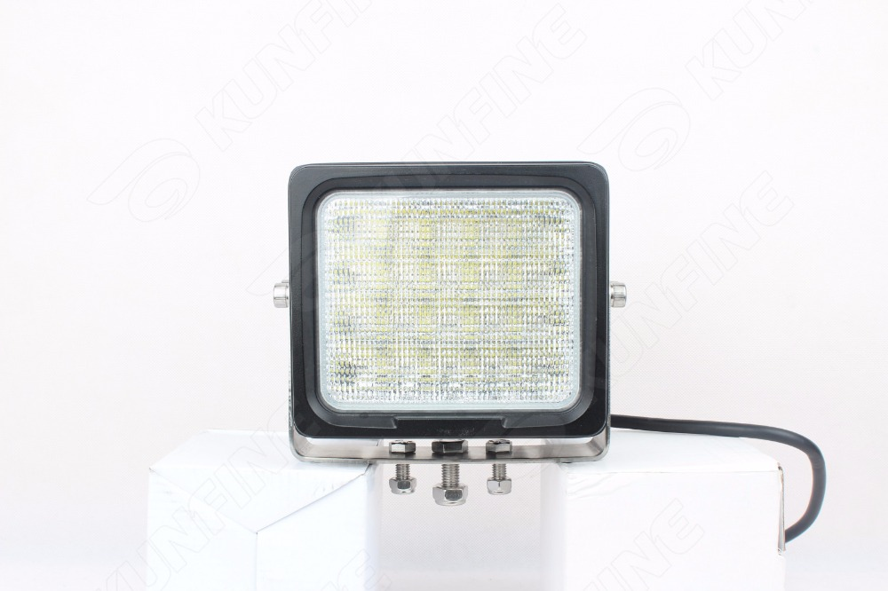 6.3 inch 100W LED Work Light 12V~30V DC LED Driving Offroad Light For Boat Truck Trailer SUV ATV LED Fog Light Waterproof 1pcs 120w 12 12v 24v led light bar spot flood combo beam led work light offroad led driving lamp for suv atv utv wagon 4wd 4x4