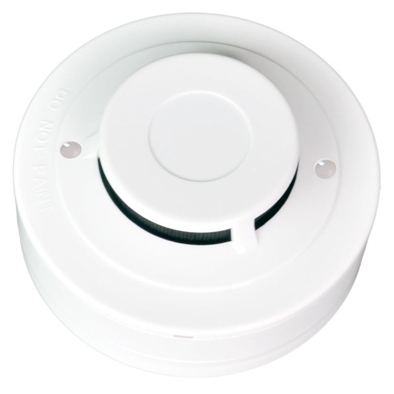 Optical Smoke Detector  2Wire Conventional Smoke Alarm Sensor YT102C  Works With Any Traditional Fire Alarm Control Panel