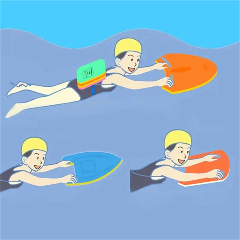 Одежда заплыва учащегося Kickboard Flutterboard плиты Surf воды для детей и взрослых безопасный бассейн тренировочный помощи поплавок ручной доска инструмент пены