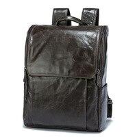 Amasie для мужчин рюкзак кожаный мужской функциональные сумки водостойкий вместительный рюкзак сумка школьные сумки для подростка EGT0336