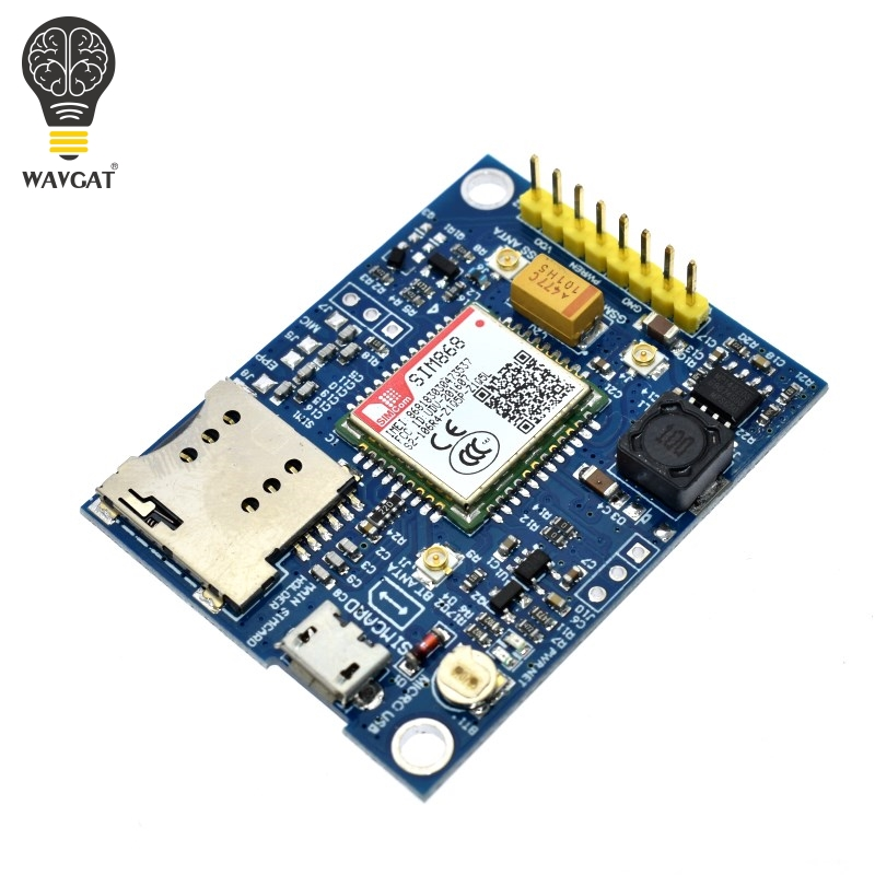 MODULE cellulaire WAVGAT SIM868 GSM GPRS GPS BT MINI carte SIM868 carte de sortie SIM868, au lieu de SIM808