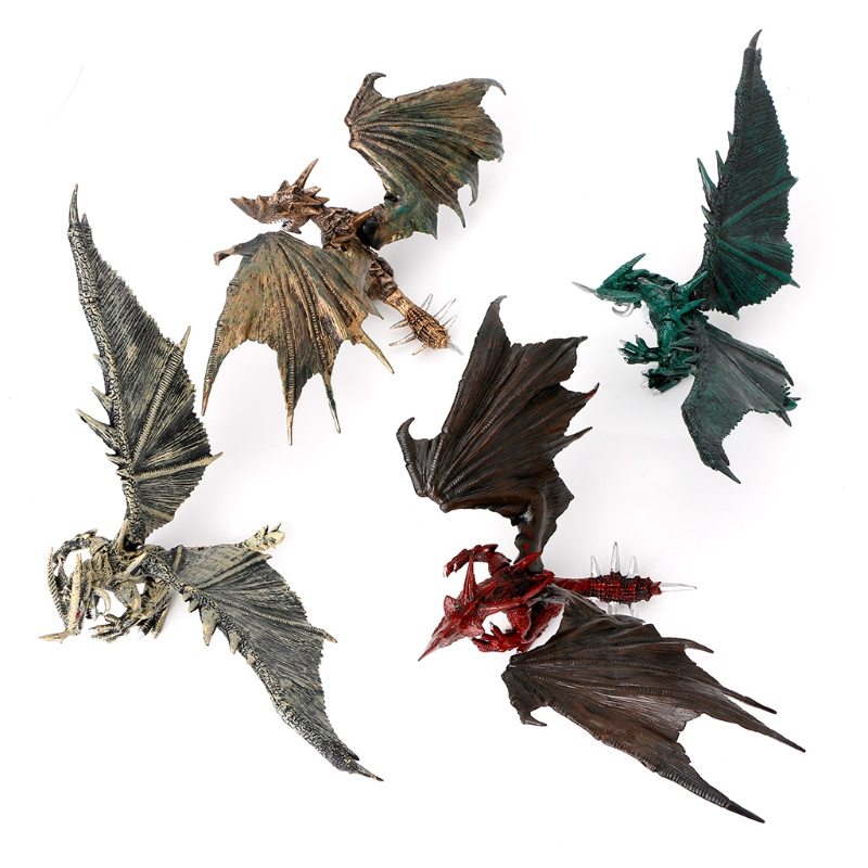 1PC Flying <font><b>Dinosaur</b></font> Model Dragons Action Figure Classic <font><b>Toys</b></font> Kids Educational Mould Random Color %328/319 image