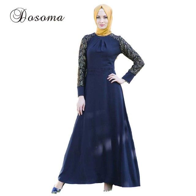 Vintage Muslim Women Lace Burka Abaya Dress Indian Patch Linen Maxi Robe Kimono Vestido Kaftan Instant