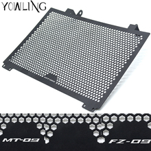 цена на Motorcycle Radiator Guard Radiator Cover Protector For yamaha MT09 MT 09 MT-09 FZ09 FZ-09 2013 2014 2015 2016 mt9 mt 09 MT