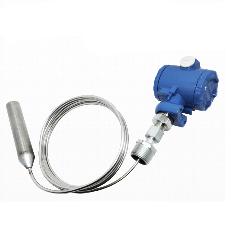 Stainless steel tape armored input level transmitter / 4-20MA pH level sensor / -100 ~ 300C high temperature transmitter universal input pc programmable temperature head transmitter 4 20ma analouge output tmt902b