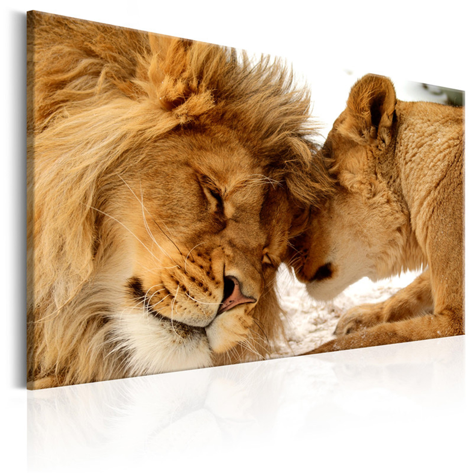 The-King-of-Animals-Canvas-Painting-Cute-Leopard-Lion-Posters-and-Prints-Photo-Wall-Art-Pictures (2)