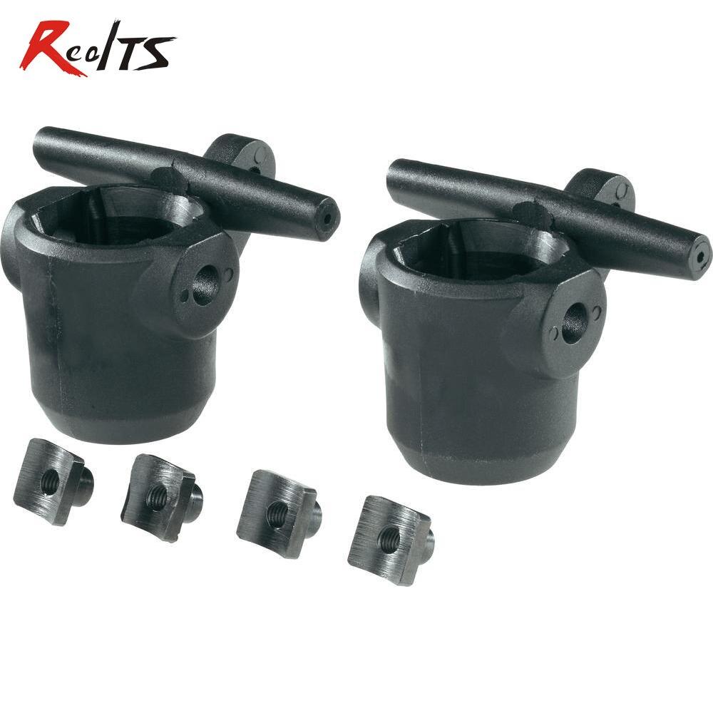 Realts 2 peças/set 112001 fs corrida/mcd/fg/cen/reely 1/5 escala rc hub de direcção do carro para o buggy, Truggy, MT, SC