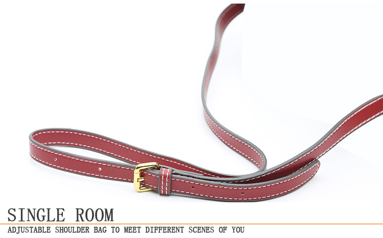 2019 vintage women leather handbags Luxury brand shoulder bags high quality designer crossbody bags for women messenger bag