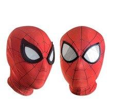 цена на Raimi Spiderman Mask Spiderman Homecoming Masks Avengers Infinity War Iron Spider Man Cosplay Costumes Lycra Mask Lenses