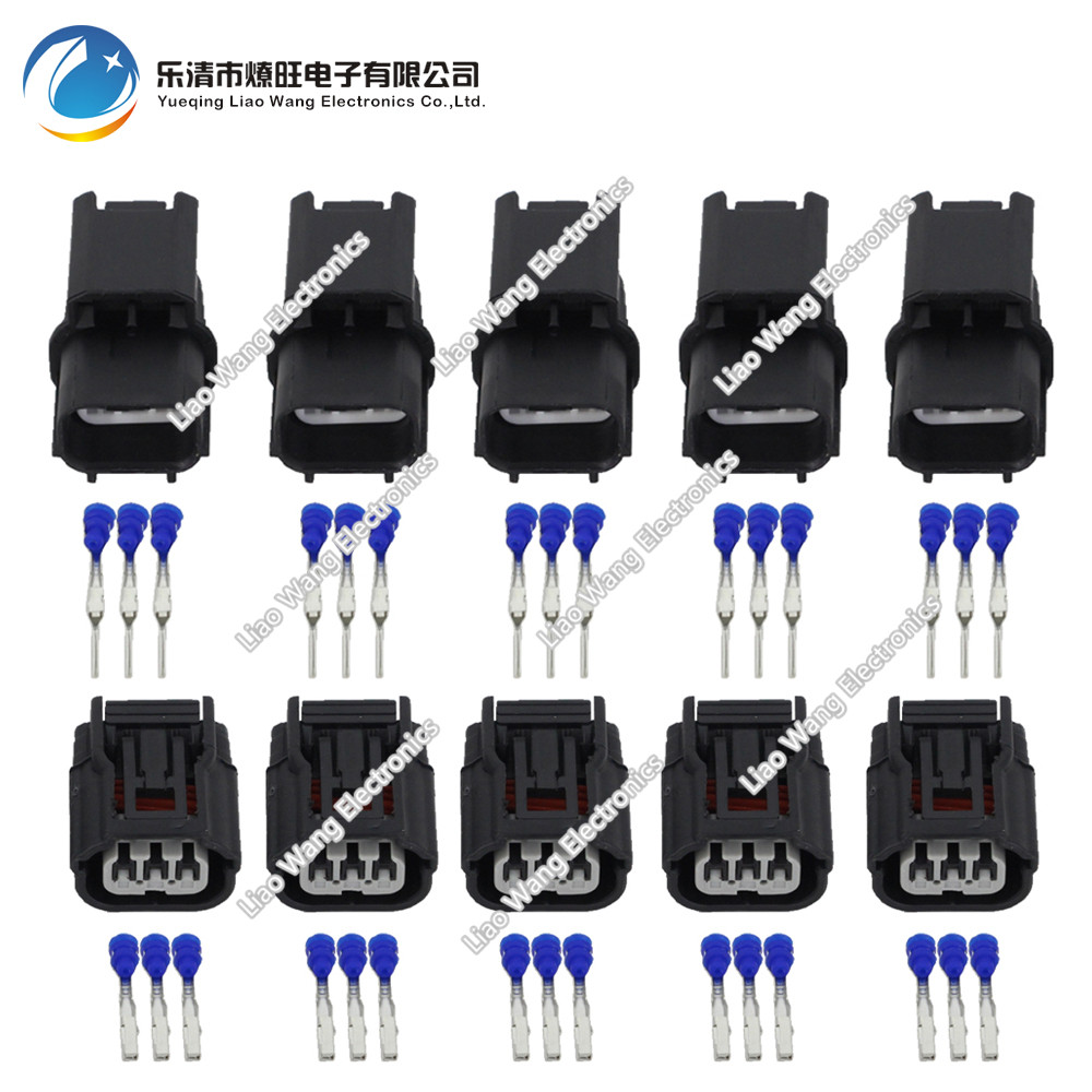 5 Sets Sumitomo HV/HVG Sealed Series DJ7032A-1.2-11/21 Auto Wire Connector Female And Male Electrical
