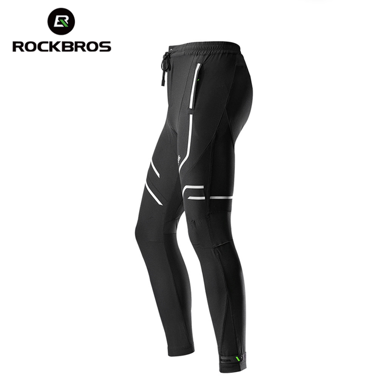 ROCKBROS Spring & Summer Cycling Pants Tight Long Trousers Sports Wear Quick-dry Anti-sweat Bike Bicycle Pants Riding Clothing
