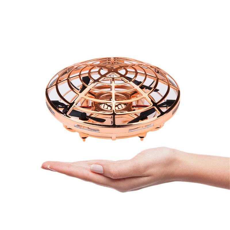Nouvelle Main Induite Planant Flottant Vol Infrarouge Capteur Soucoupe Volante UFO Mouvements de La Main Enfants Jouets Mini Drone LED Flash