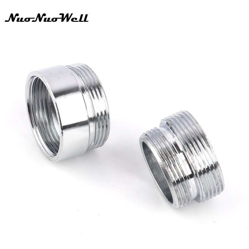 Stainless Steel M22 To M20 Thread Connector Faucet Joints Water Tap Adapter  Water Purifier Accessory Garden Irrigation Fittings