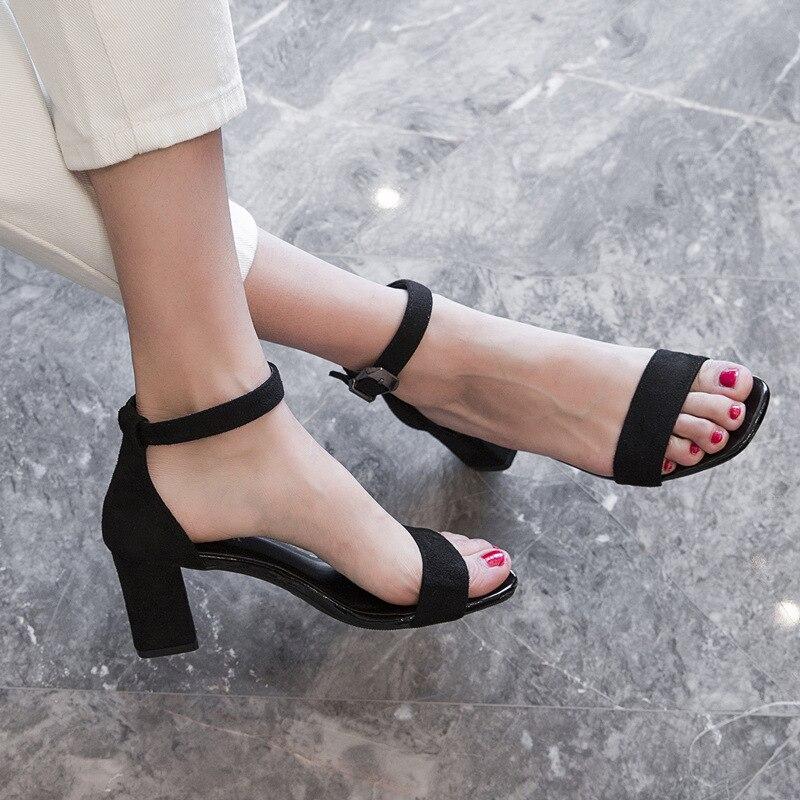 wine Sexy Tacchi Feminina Cm Zapatos Delle Da Red 5 Black Estate 7 Alti Chaussures Femme Scarpe Nuovo Calzature De Cm Pompe Cm Donna Sandalias Mujer Sandalia Di black Signore vHFHqwx6