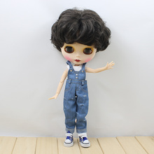 Neo Blythe Doll Denim Jumpsuit Overall Outfit Lacey Sleeves Set Option