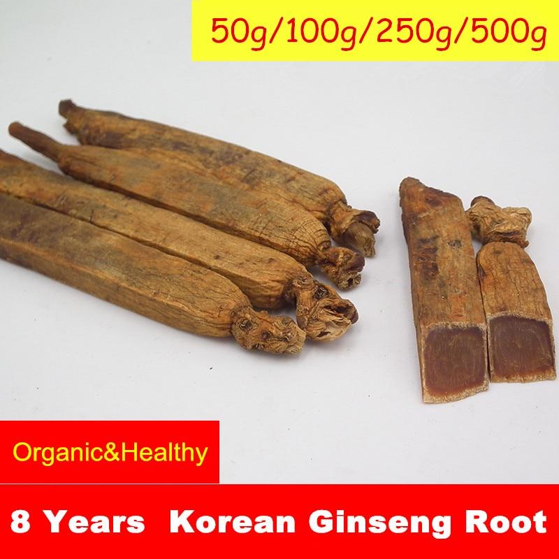 8 Years 100% Organic Korean Ginseng Root Red Panax Improve Human Immunity Health