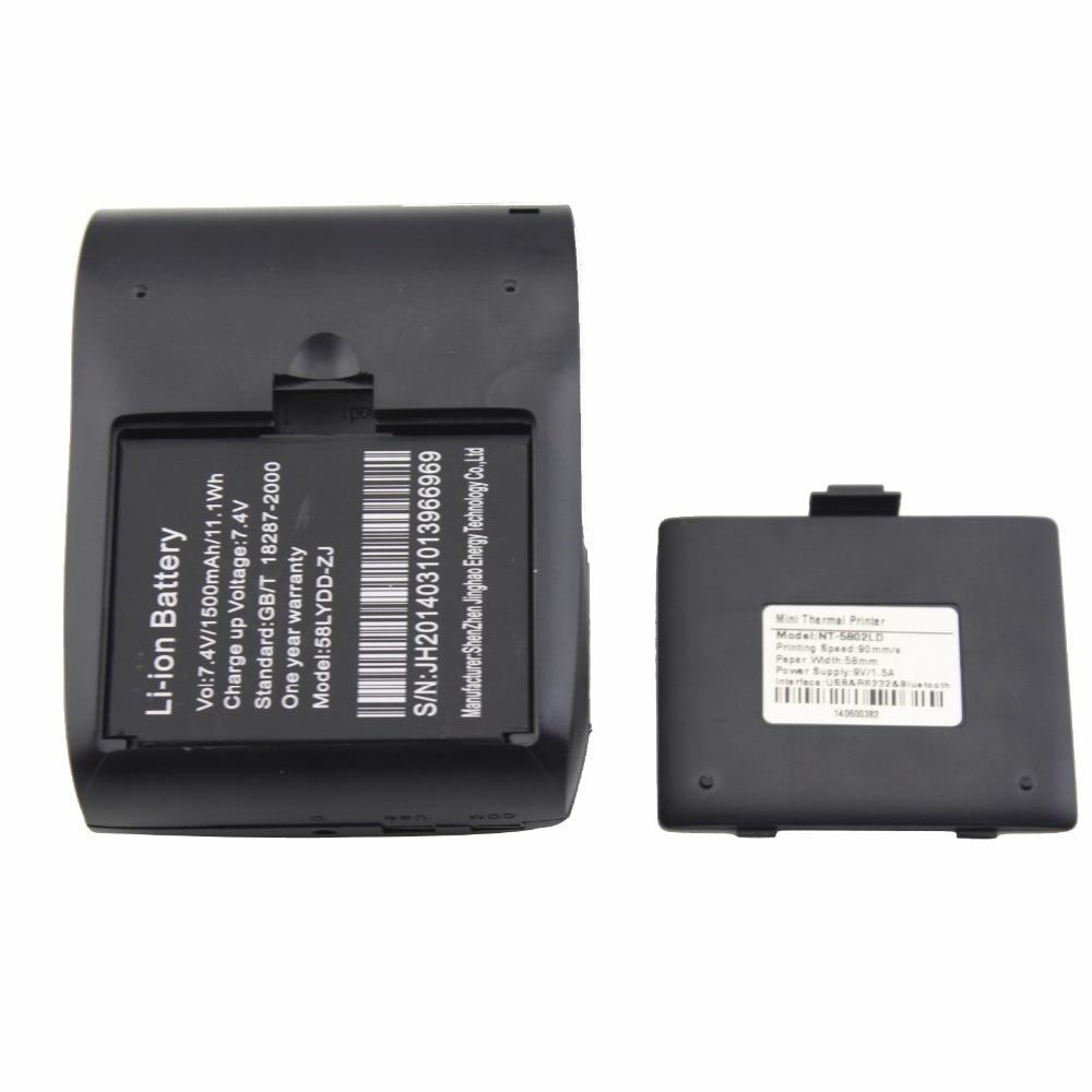 JP-5802LYA 58 мм Portablle Android Bluetooth термичен - Офис електроника - Снимка 4