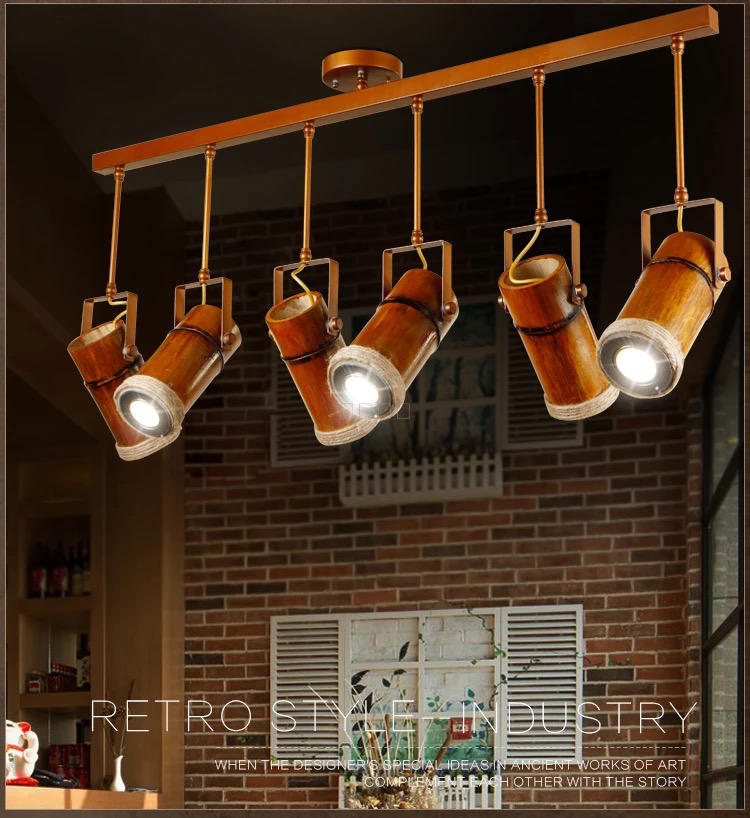 Solid wood chandelier, loft designer, American country, vintage hemp bar, coffee creative personality lamp ZH zb57 loft american edison vintage industry crystal glass box wall lamp cafe bar coffee shop hall store club