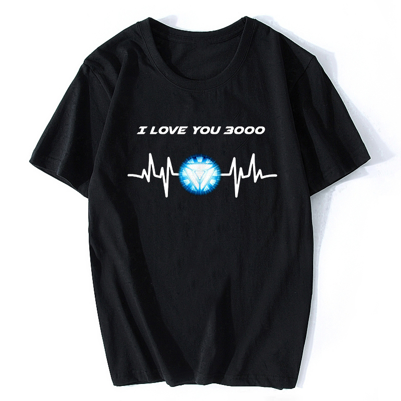 I Love You Three Thousand Times T-shirt Ironman Thousand Love U 3000 Times T Shirt PORGous Avengers 4 Women/Men T Shirt