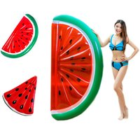 Watermelon Inflatable Pool Float Swimming Ring For Adults Women Giant Swimming Float Air Mattress Buoy Beach Toy Fun Dropship