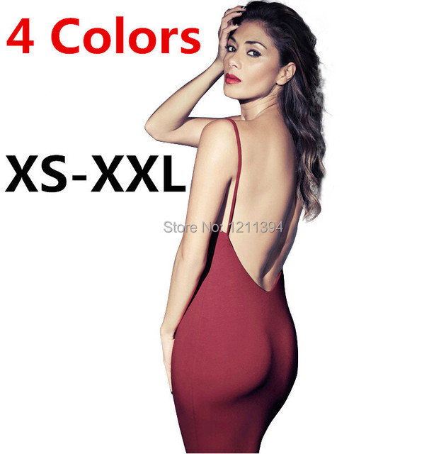 2015 XS-XXL Women s Summer Dress Sexy Tight Slim Hip Racerback Suspender  Fashion Slim Basic Dress One-piece Dress 3404be8c84d5
