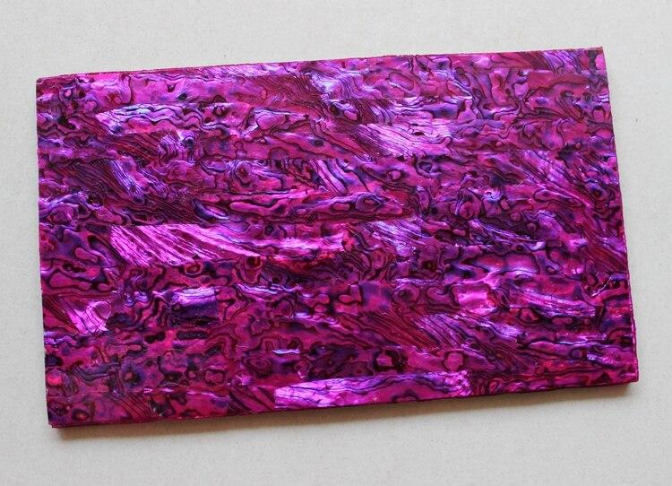 1.5mm épais violet couleur ormeau shell paua shell stratifié sheets140x240mm shell papier meubles inlay guitare accessoires