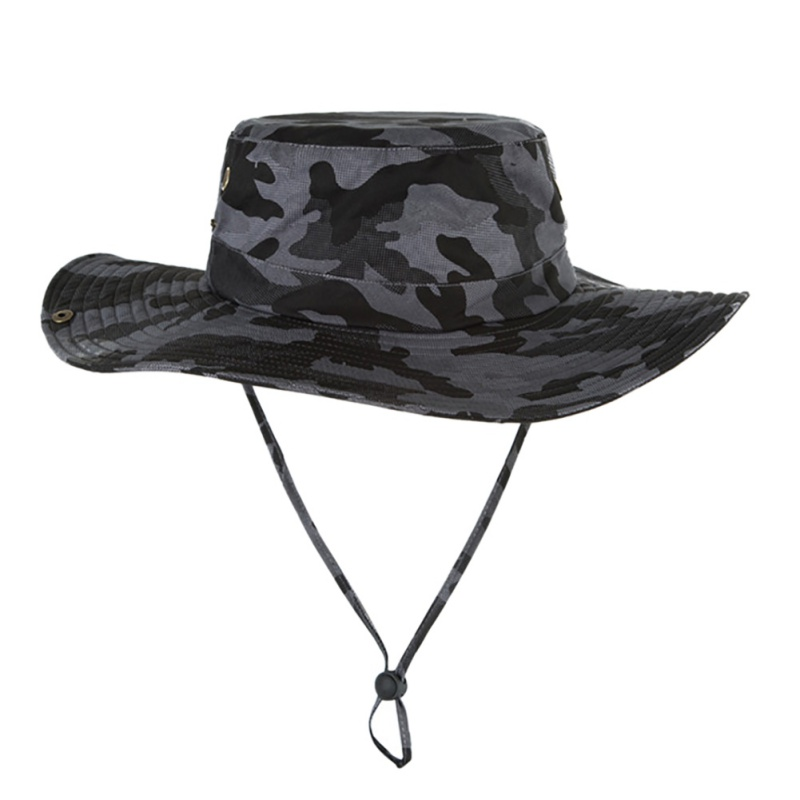 55bdfb661ec5d Outdoor Fishing Hat Men Camflage Military Fisherman Hat Hombre Jungle  Hiking Hat Boys Bucket Hat for Men -in Bucket Hats from Apparel Accessories  on ...