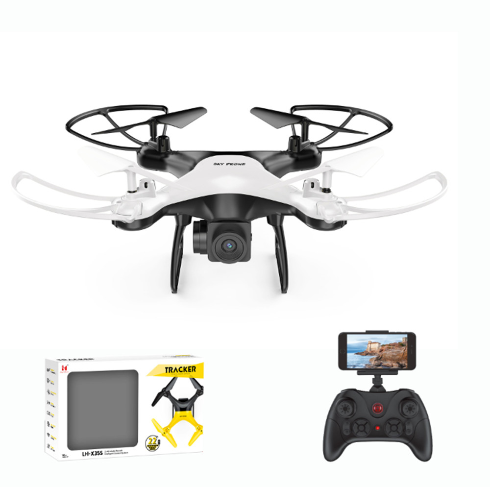 X35SHWF 2.4G C Drone Quadrocopter Helicopter 720P WIFI FPV HD Camera Barometer Altitude Holding Auto Return 20 mins Flying Time