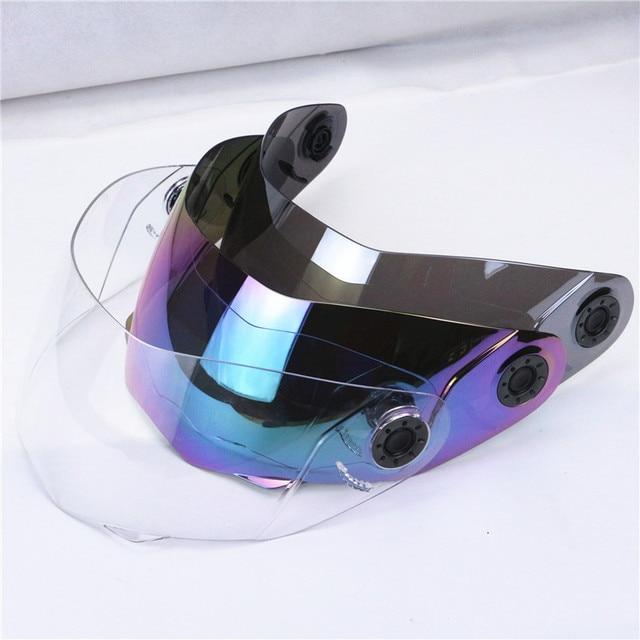 motorcycle helmet windshield JIEKAI 105 helmet glass jiekai helmet visor clear visor colorful visor mirror visor