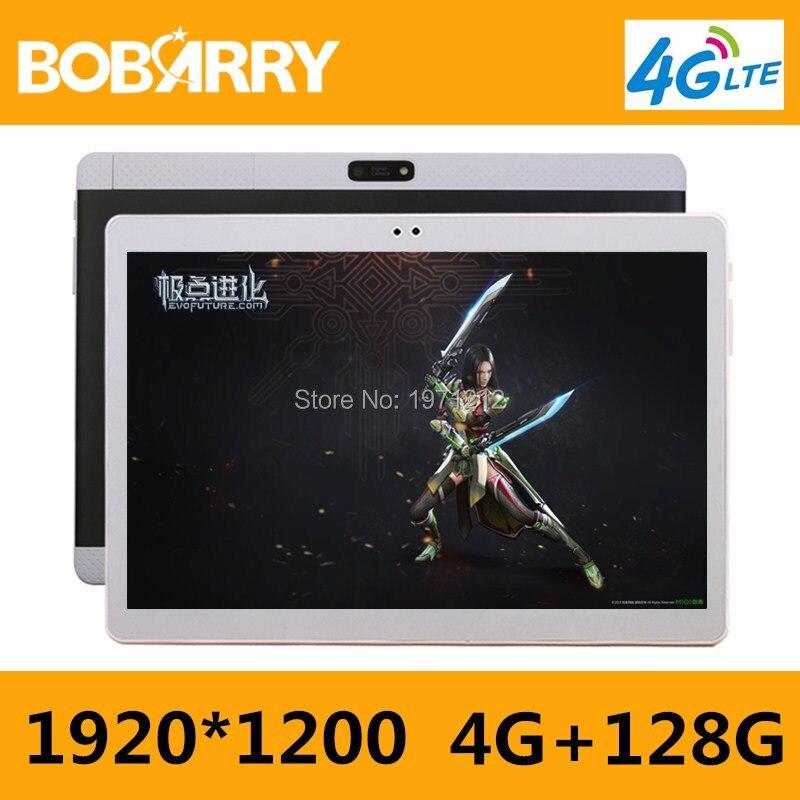 10 pulgadas mtk8752 octa Core Tablets PC smartphone 1920*1200 HD 4 GB RAM 128 GB ROM WiFi 3 g/4G mini androide 6.0 GPS FM Tablets + regalos