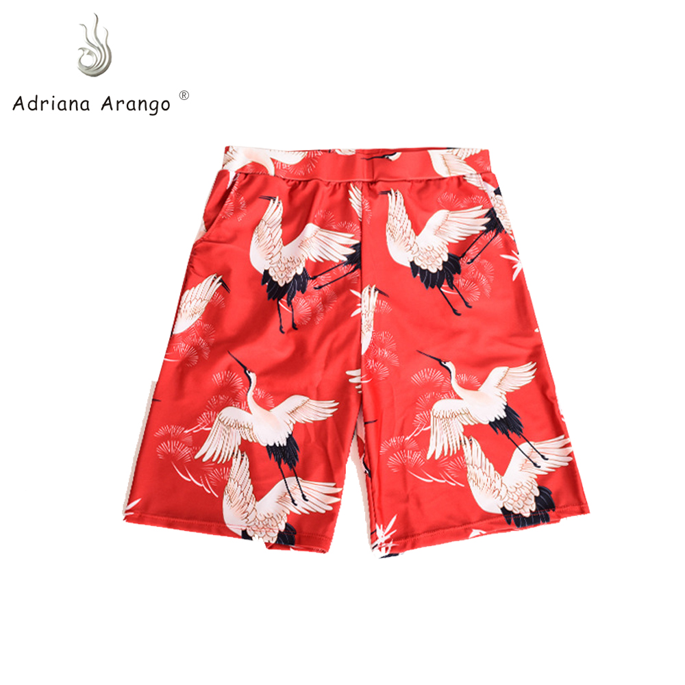 Adriana Arango 2019 beach men   shorts   swimming masculina surf   board     shorts   sports beach pants Mutiple Color Animal and strip